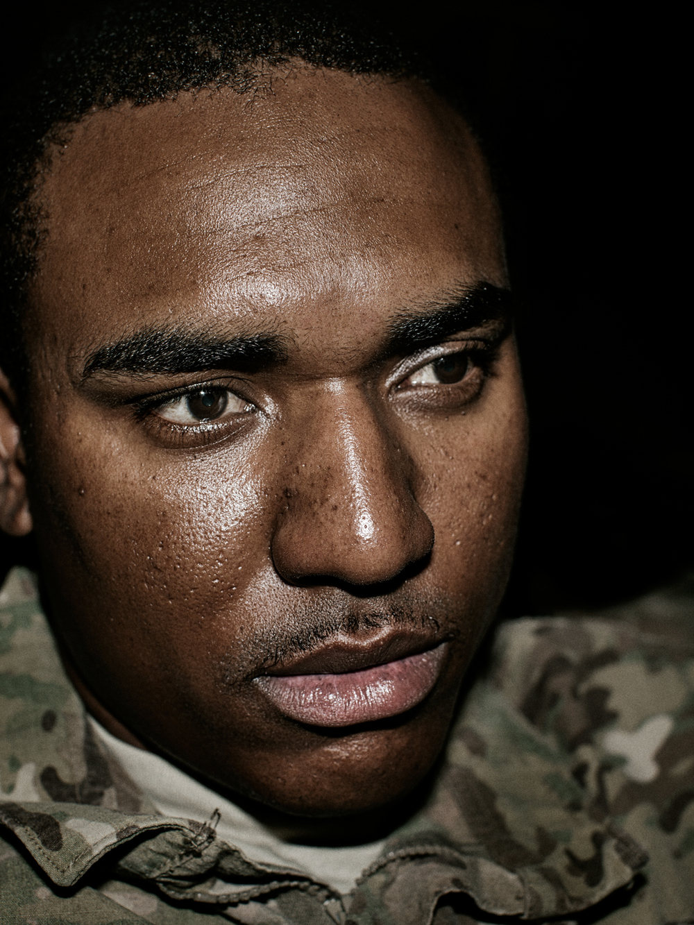 U.S. Army Specialist Fred Ferguson.
