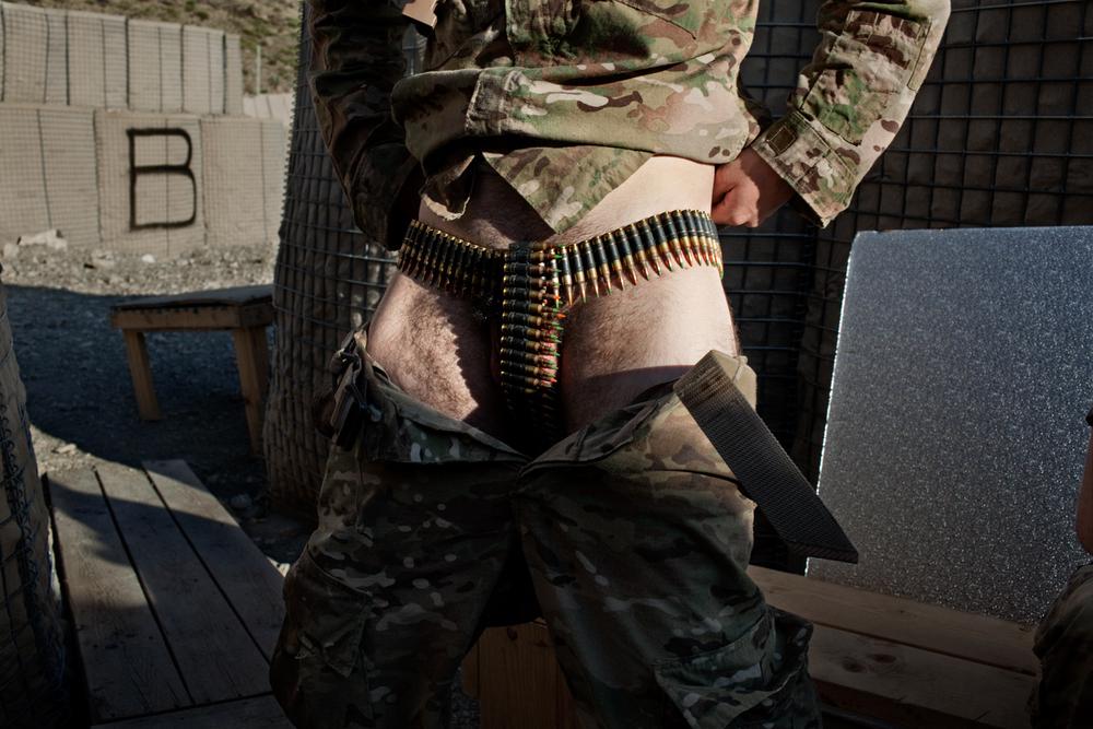 U.S. Army Ammunition Belt, Paktika, Afghanistan, 2011.