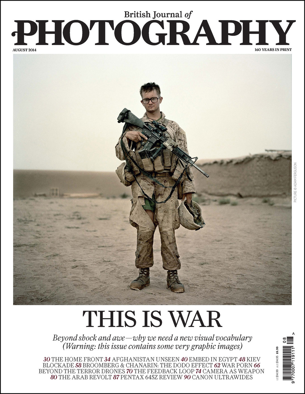 'This is War',  British Journal of Photography , August 2014