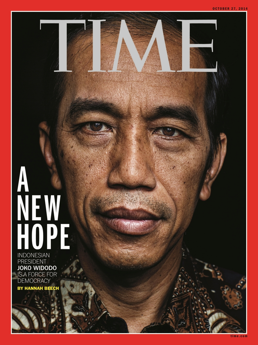 'A New Hope', Time Magazine, October 27, 2014.