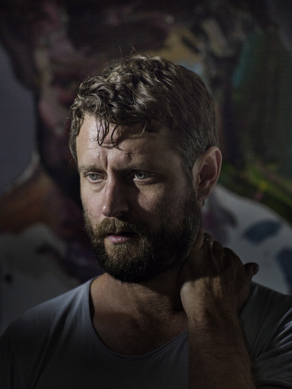 Australian artist Ben Quilty for  Monocle