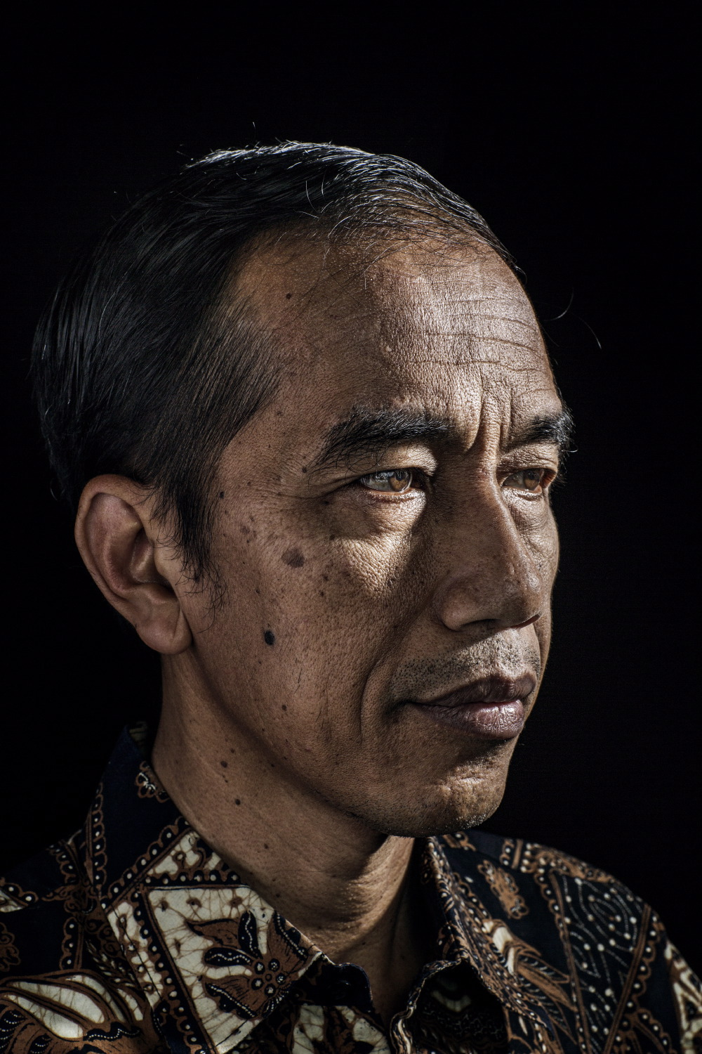 The President-elect of Indonesia, Joko Widodo for  Time Magazine .