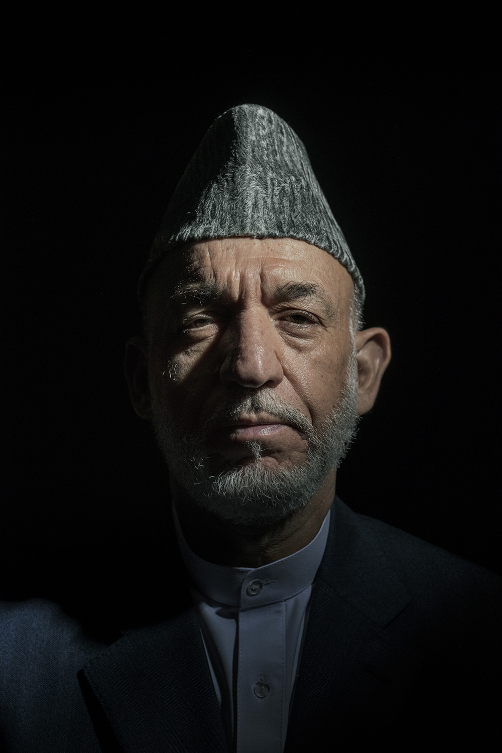 Former Afghan President Hamid Karzai for  The New York Times