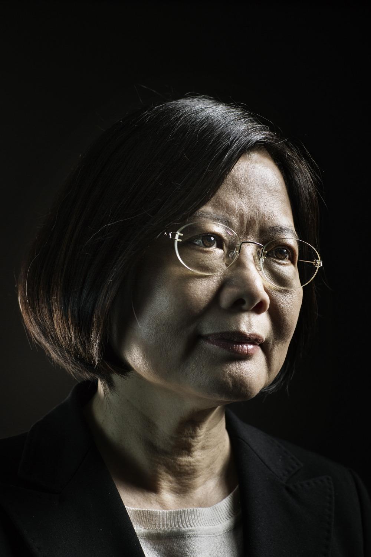 The President of Taiwan, Tsai Ing-Wen for  Time Magazine .
