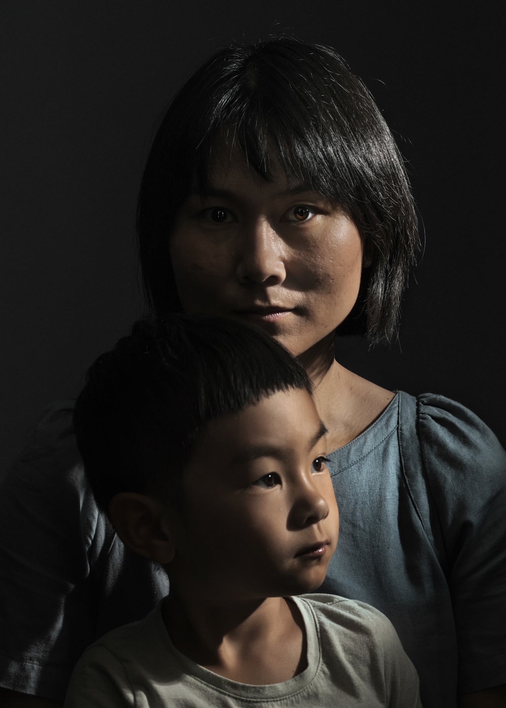 Hua Qu and Shaofan for  The New Times Magazine