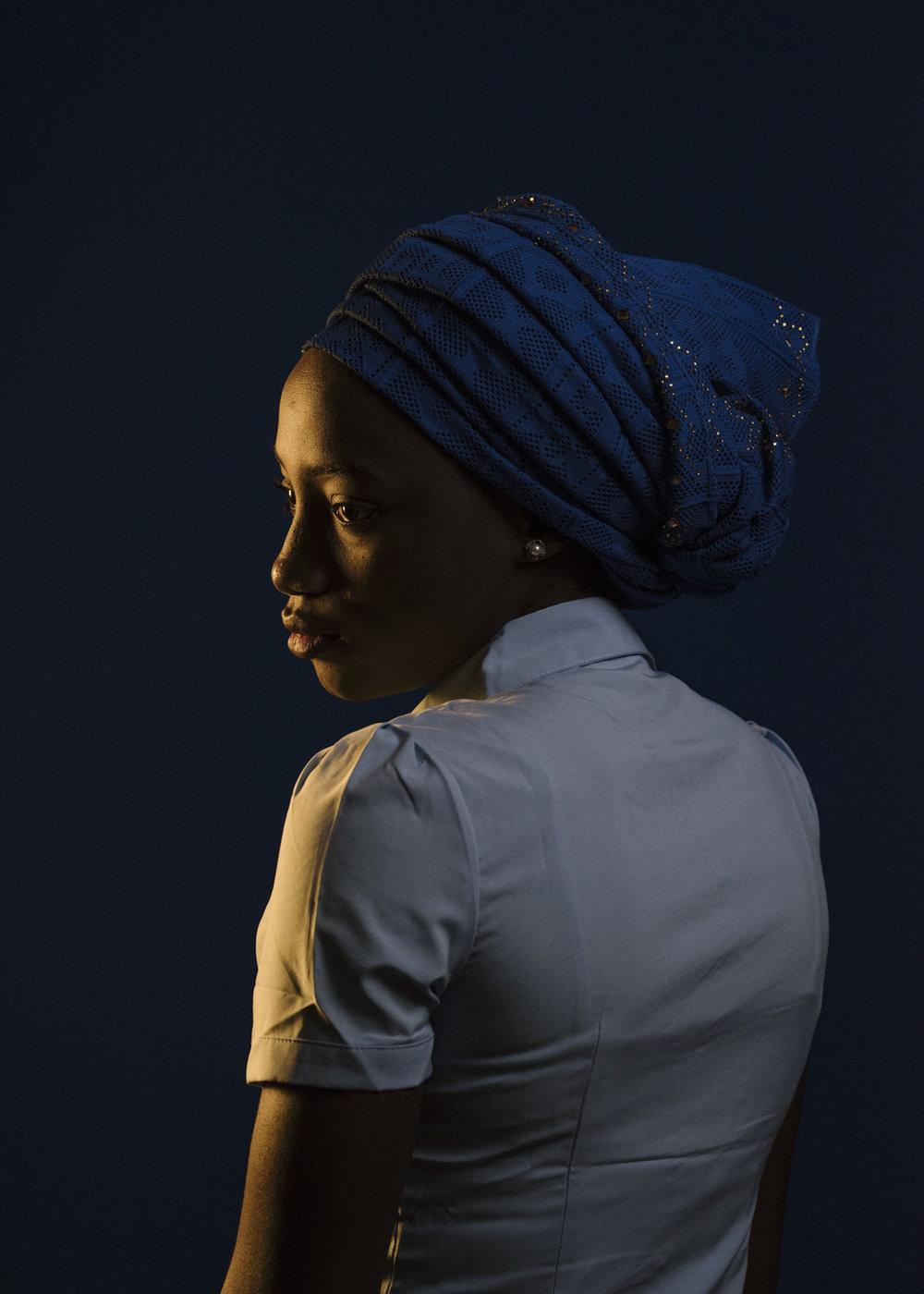 Rahab Ibrahim, 'Chibok Girl' for  The New York Times