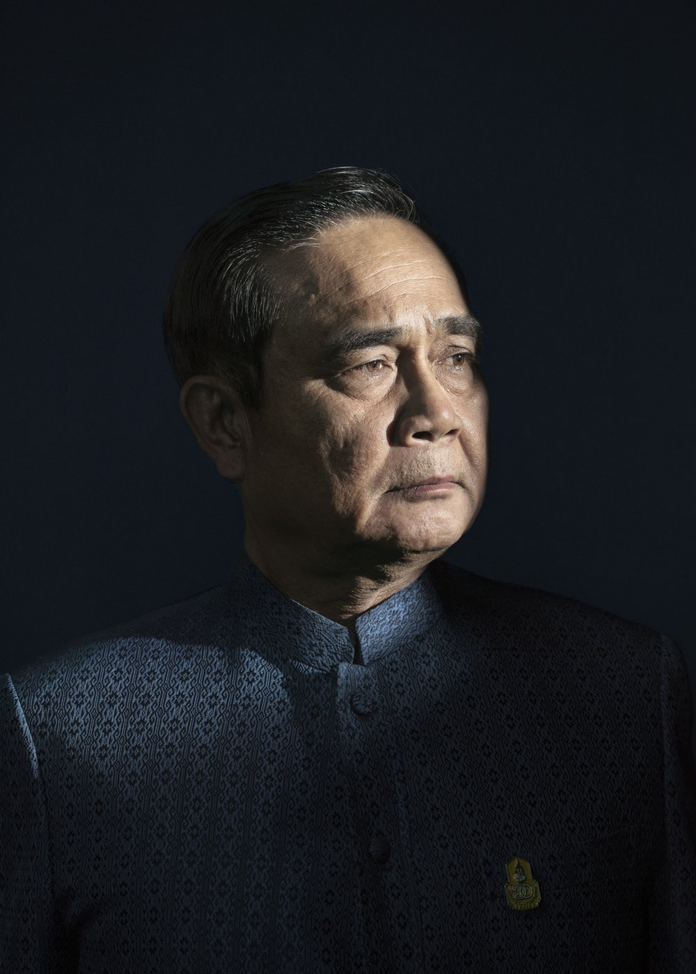 The Prime Minister of Thailand, Prayut Chan-o-cha for  Time Magazine