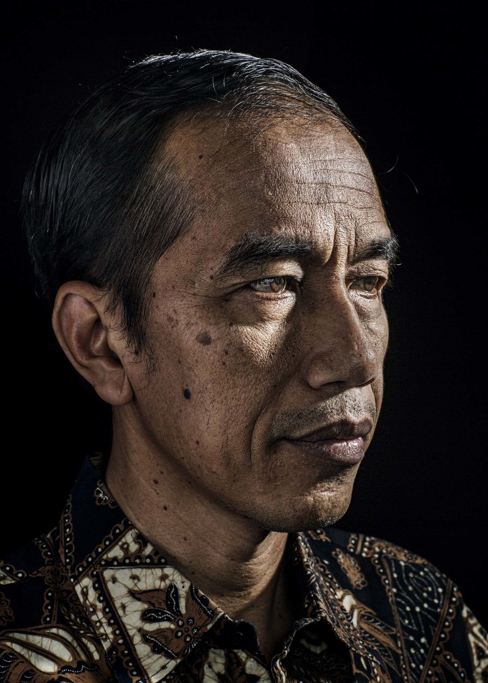 Joko Widodo, the President-elect of Indonesia for  Time Magazine