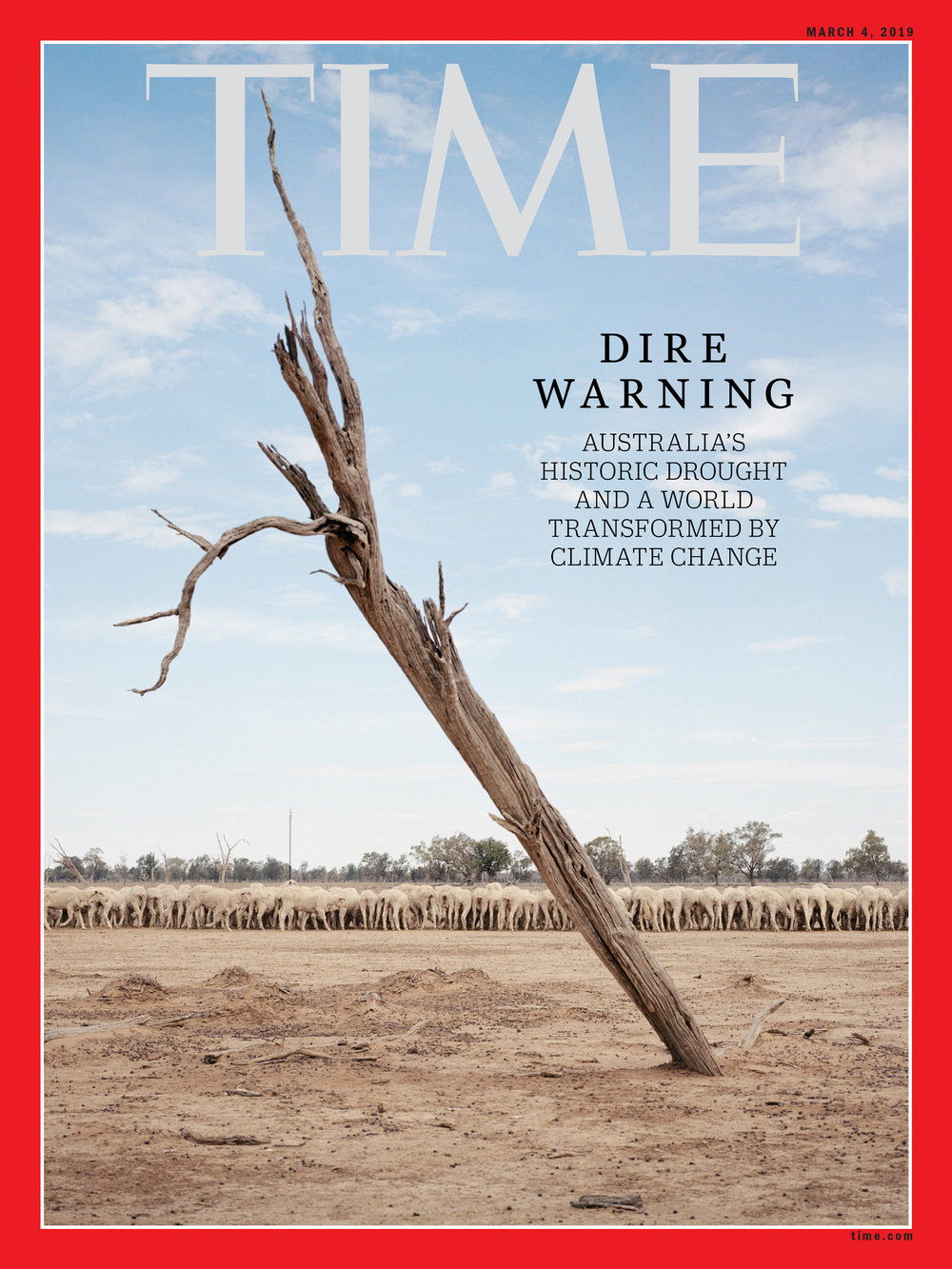 'A Harbinger of Things to Come' for  Time Magazine , 2019