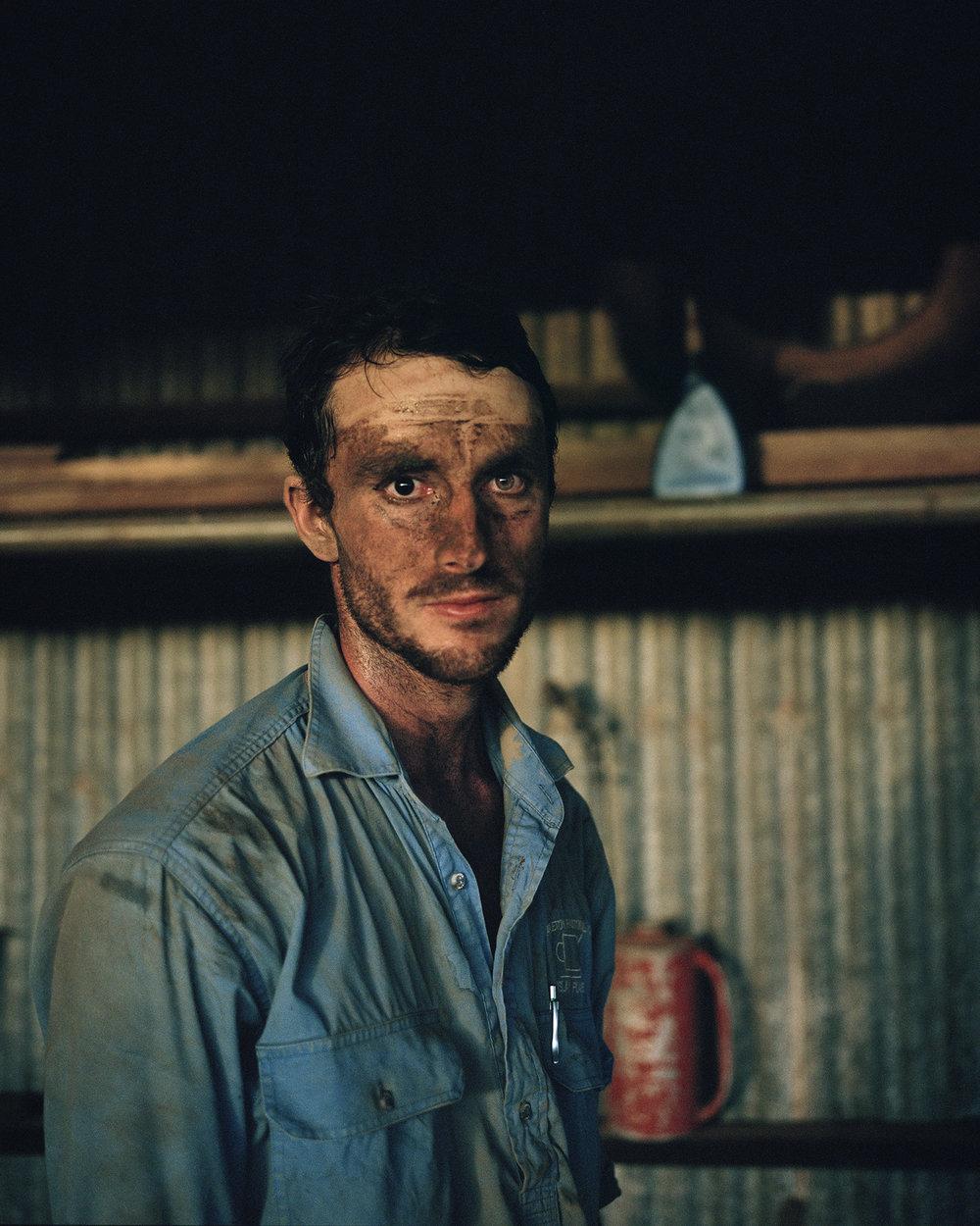 Cattle station ringer, Australia for  The New York Times