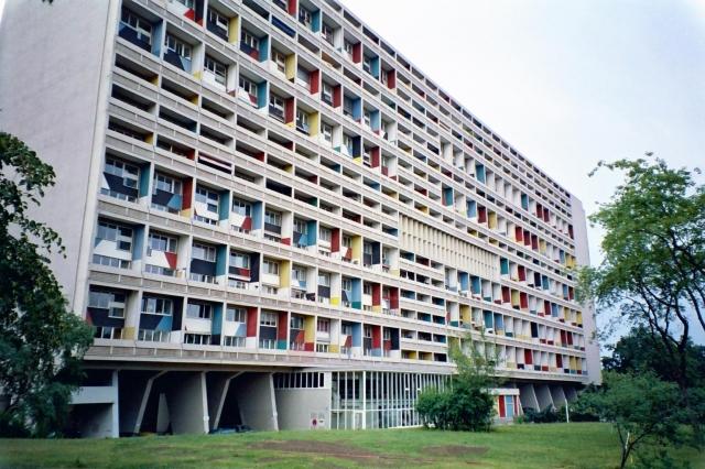 Unité d'habitation, Marseille. Le Corbusier 1947-1952
