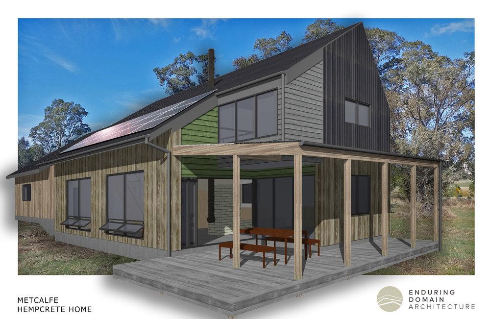 Metcalfe house - Hempcrete loft home