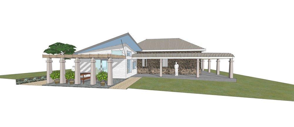 Burnbank Homestead - Modern addition to historic farm house