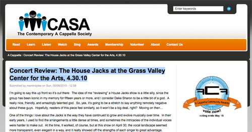CASA House Jacks Review