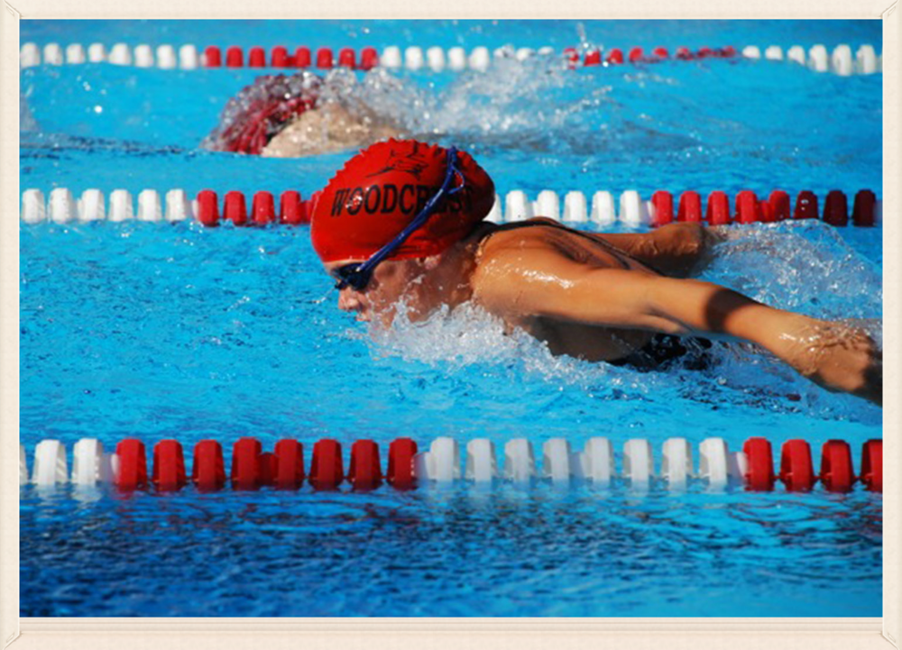 Swim & Dive Teams The Woodcrest swim and dive programs exist to provide a competitive and recreational environment where children of every age and skill level develop and thrive.