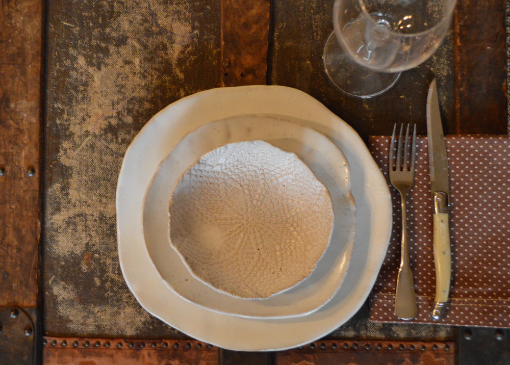 Ceramic Dinnerware set Handmade ceramics White dinnerware set Rustic Dinnerware Ceramic plates Ceramic Bowl Handmade ceramic pottery & DSC_0165.JPG?format\u003d750w