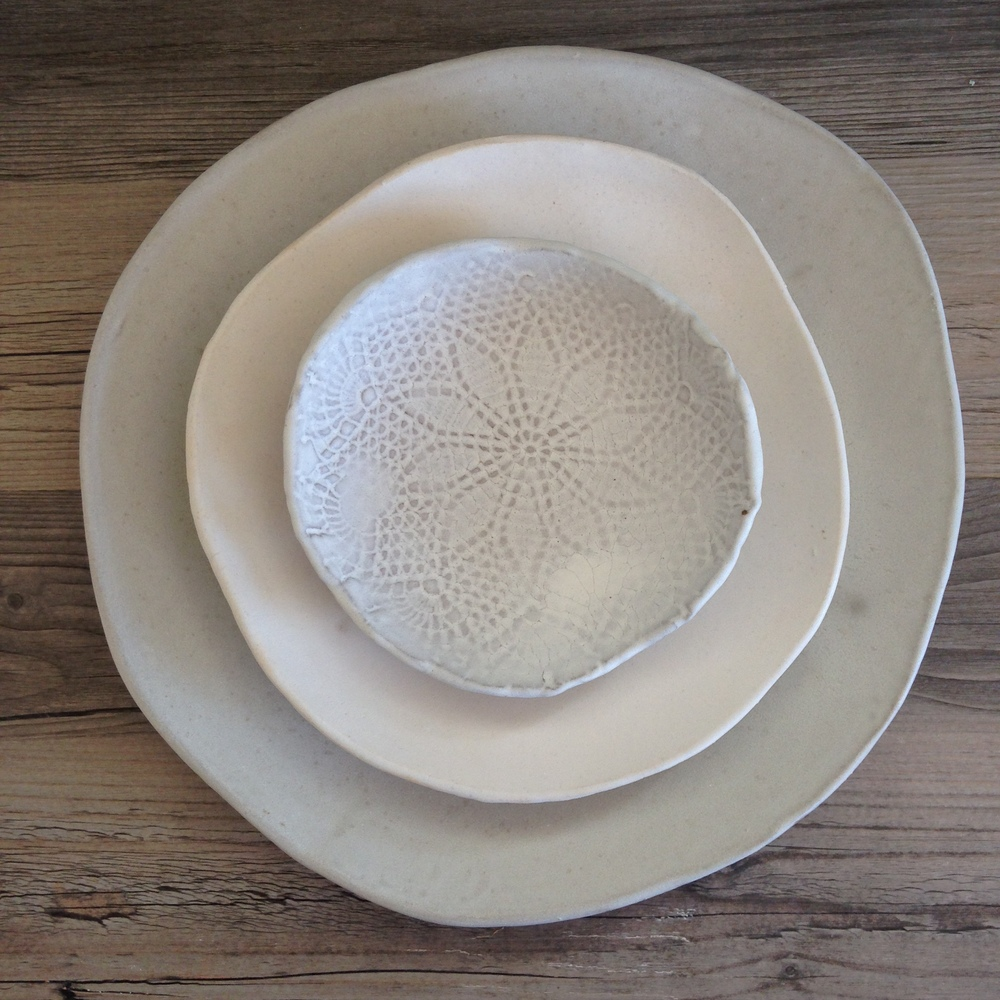 Ceramic Dinnerware set Handmade ceramics White dinnerware set Rustic Dinnerware Ceramic plates Ceramic Bowl Handmade ceramic pottery & IMG_5736.JPG?format\u003d500w