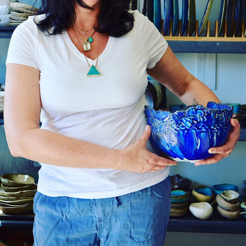 Cobalt blue Bowl