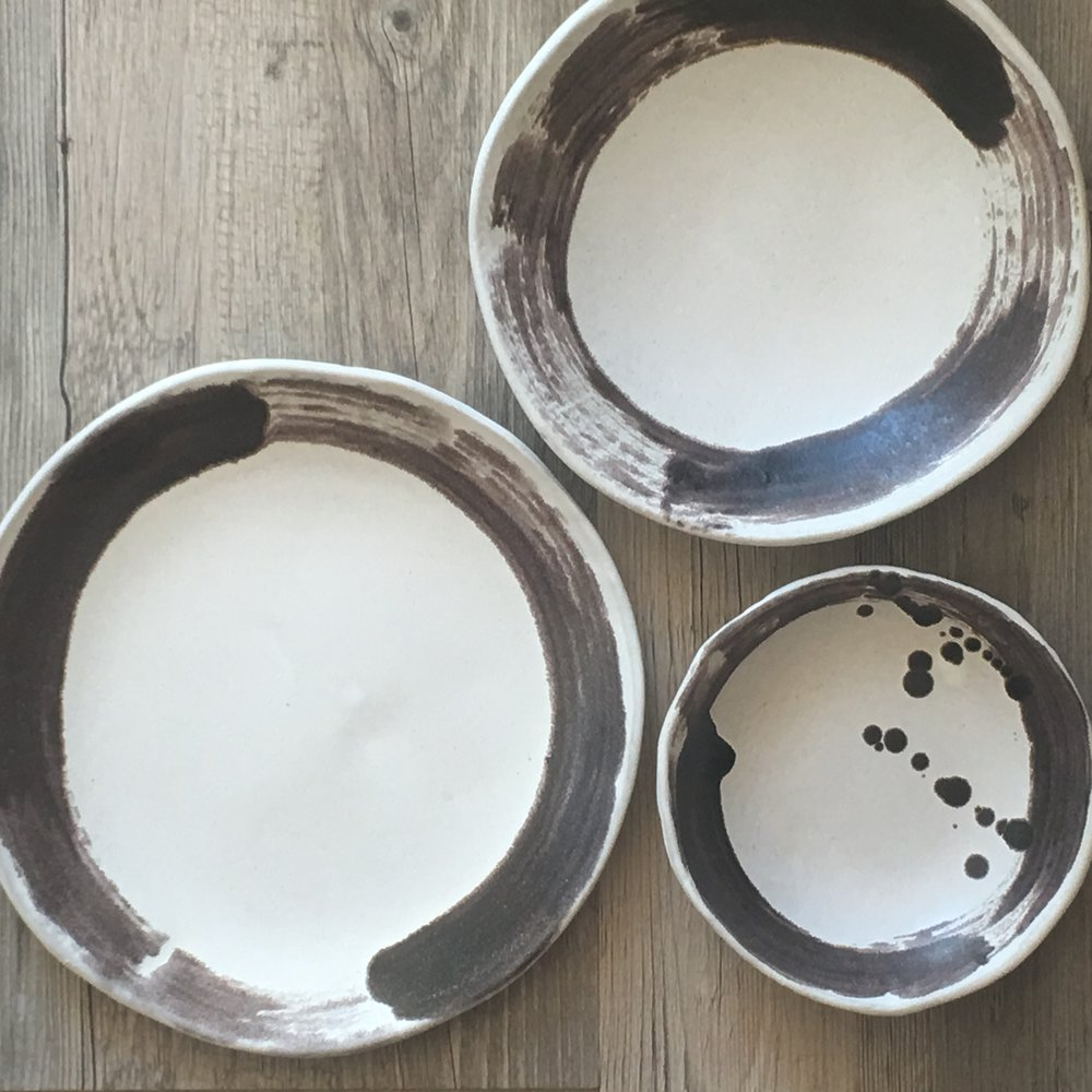 Ceramic Dinnerware set Zen line Handmade ceramics White dinnerware set Rustic Dinnerware Ceramic plates Ceramic Bowl Handmade ceramic pottery & IMG_0498.JPG?formatu003d500w