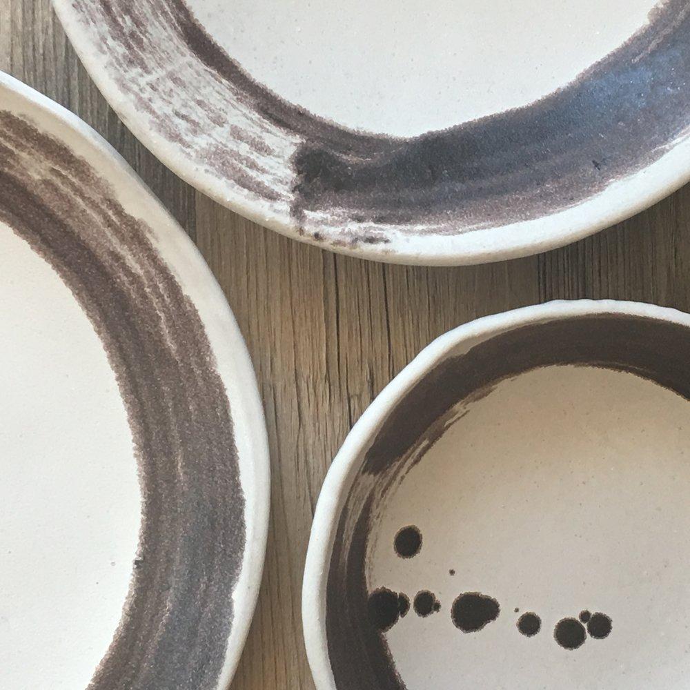Ceramic Dinnerware set Zen line Handmade ceramics White dinnerware set Rustic Dinnerware Ceramic plates Ceramic Bowl Handmade ceramic pottery & IMG_0499.JPG?formatu003d500w