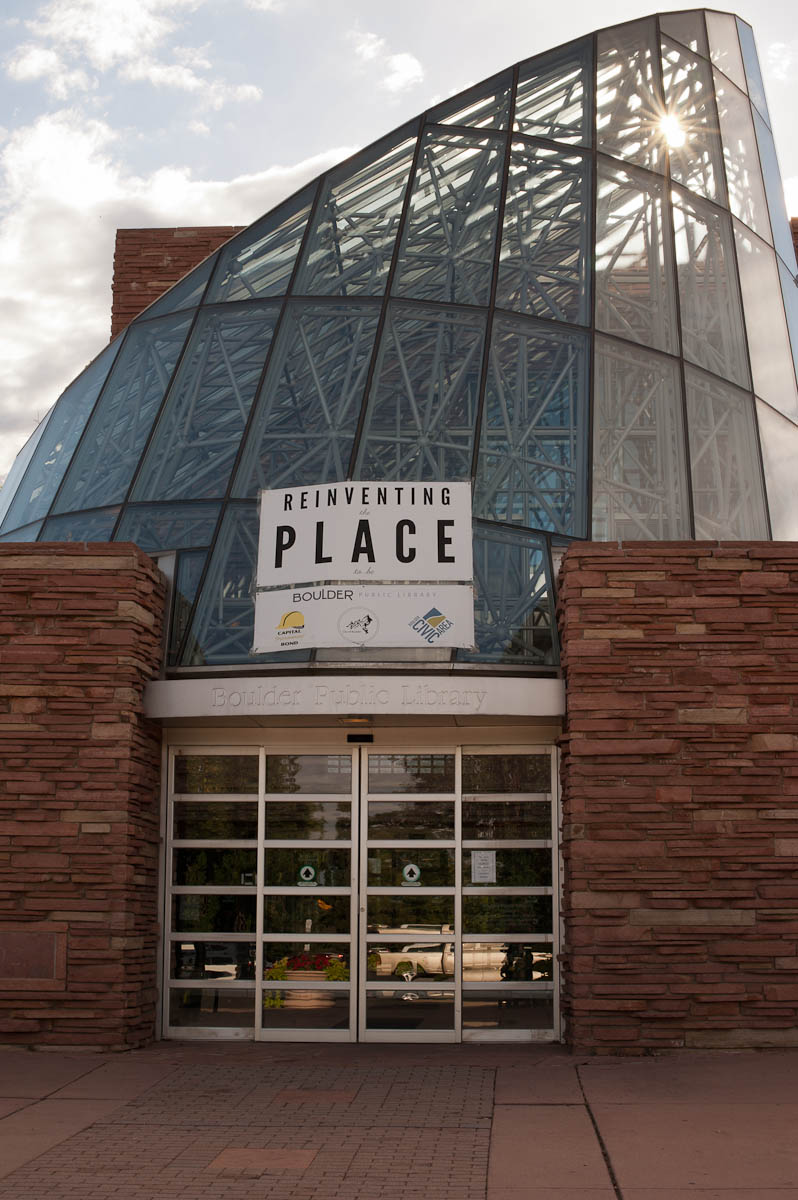 "Boulder Public Library's new community campaign is ""Reinventing the Place to Be"""