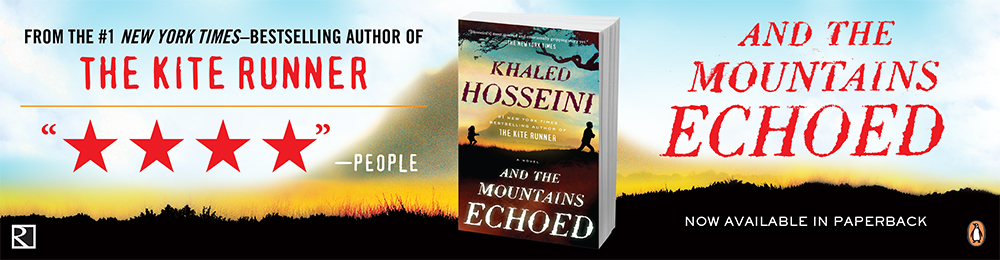 Social media ads for #1 New York Times—bestselling author, Khaled Hosseini's And The Mountains Echoed.