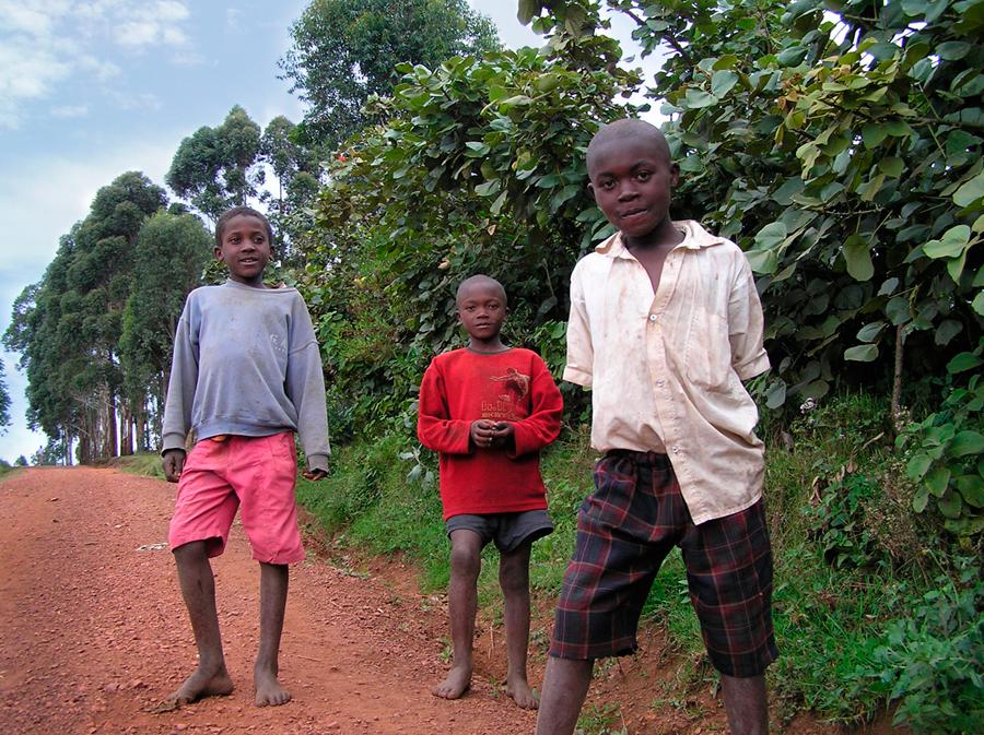 Bufuka Village (bordering Rwanda and The Congo) Uganda