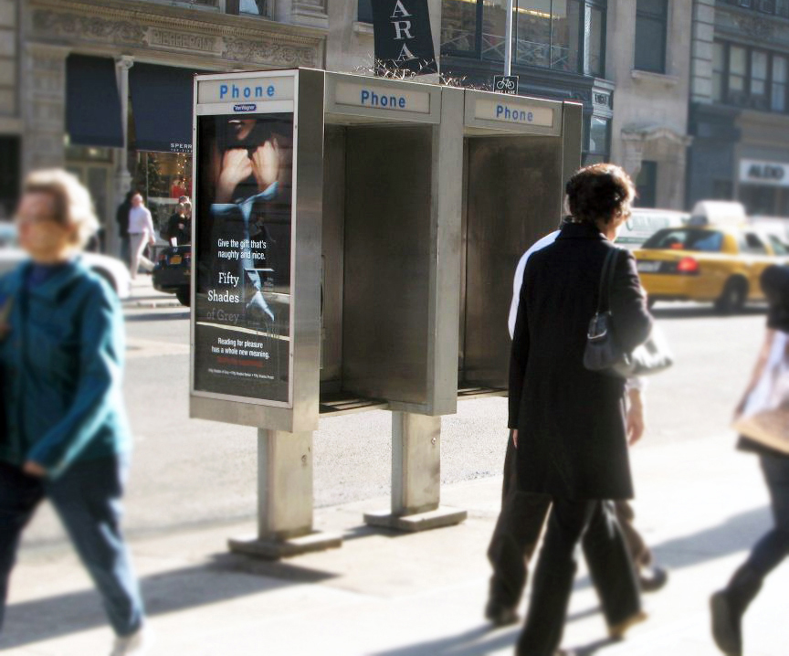 New York City out-of-home phone kiosks