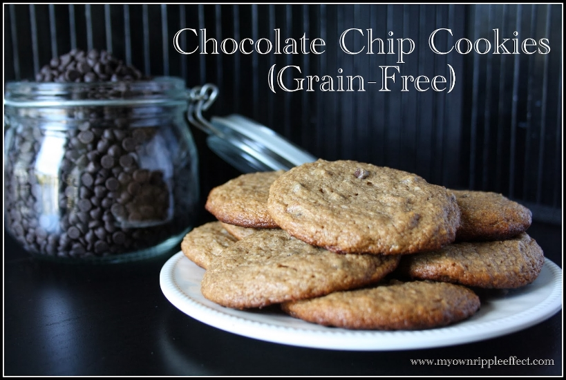 Chocolate Chip Cookies {Grain-Free} 2