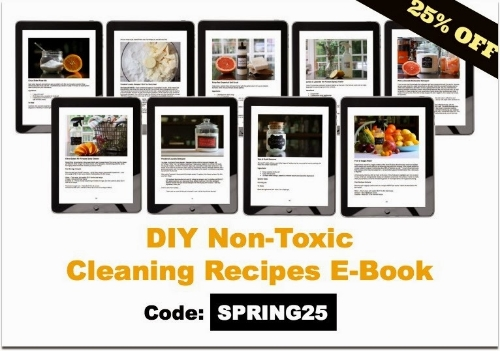 Giveaway & Sale DIY Non-Toxic Cleaning Recipes