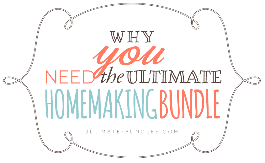 The ULTIMATE Homemaking Bundle! 6