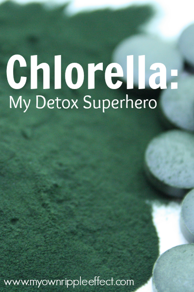 Chlorella My Detox Superhero 2