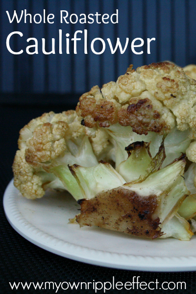 Whole Roasted Cauliflower 2