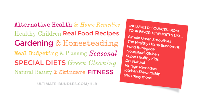 THE reason I bought the Ultimate Healthy Living Bundle 2