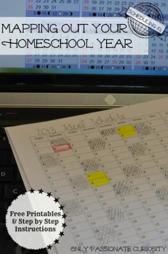 Planning My Homeschool Year 2014-2015 2