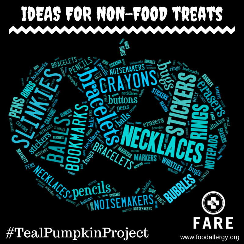 The Teal Pumpkin Project {Plus 25+ Non-Food Treat Ideas!} 2