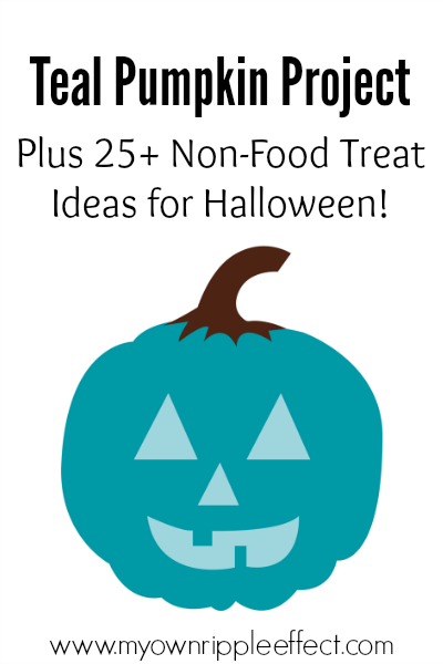 The Teal Pumpkin Project {Plus 25+ Non-Food Treat Ideas!} 3