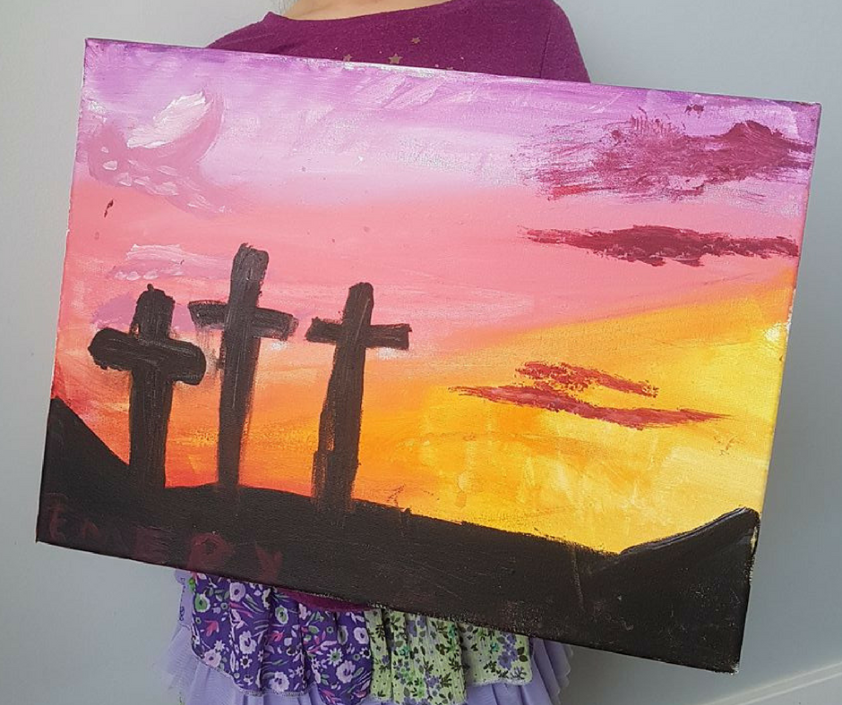Painting by my daughter, Emery (7)