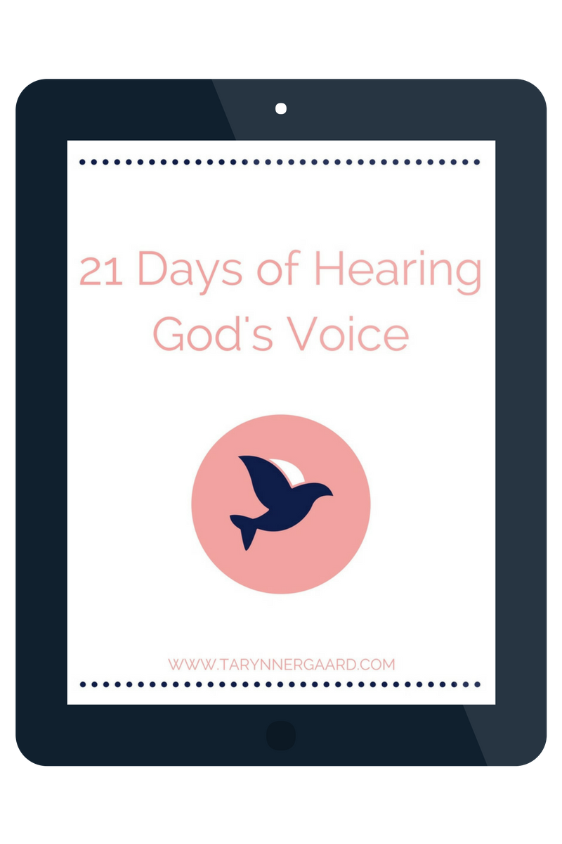 21 Days of Hearing God's Voice - Free Reading Plan