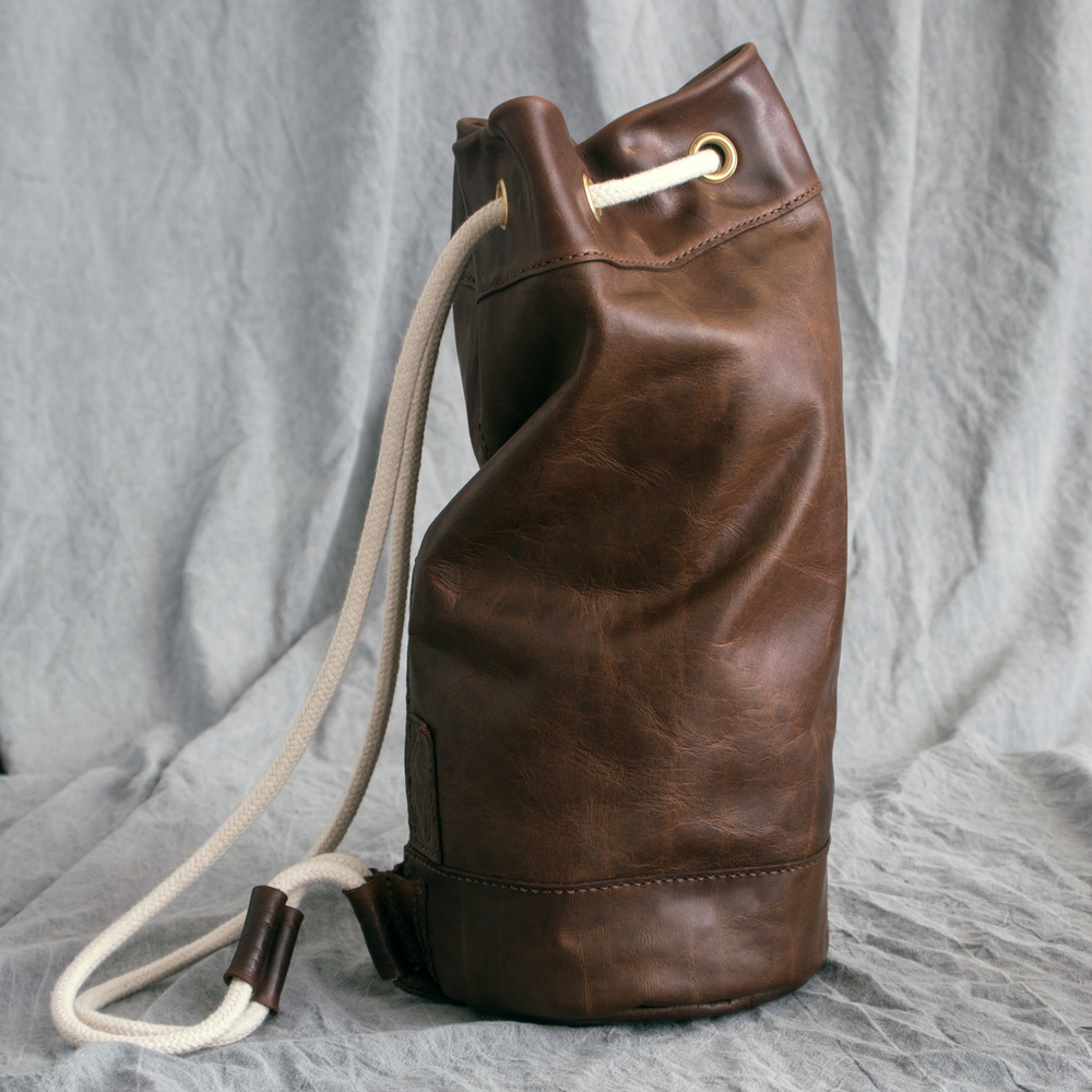Lewesian Leathers Duffel Bag by 100Designs