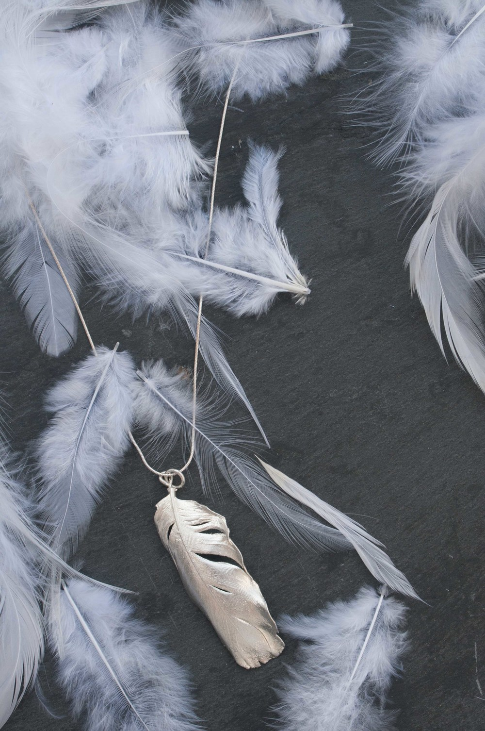 The Silvery silver feather necklace by Katie Vandyck.jpg
