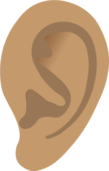 Graphic of an ear