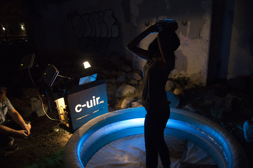 Claire Hentschker's Snorkulus Drift, a project developed in Urban Intervention, a course taught by CUIR director Ali Momeni in the School of Art at Carnegie Mellon University