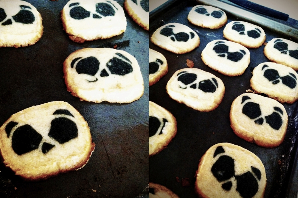 BSaz Creates-Homemade Panda Sugar Cookies