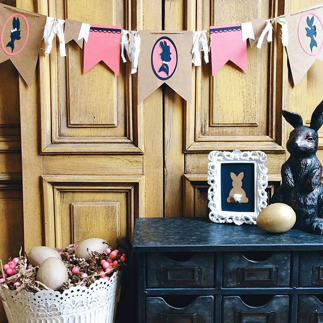 BSAZ CREATES | SHABBY CHIC EASTER DECOR