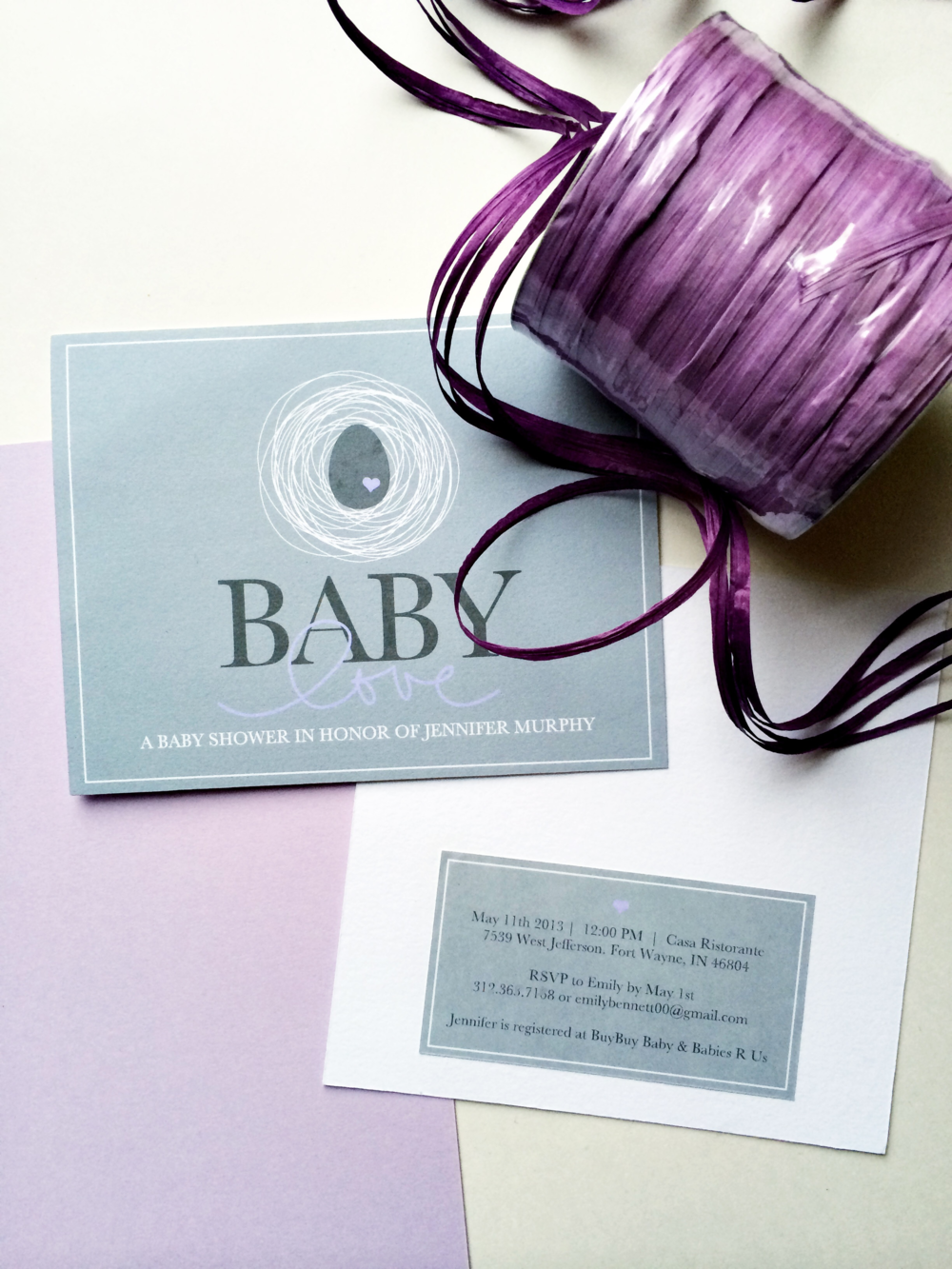BSAZ CREATES | EGG THEMED BABY SHOWER INVITATION SET