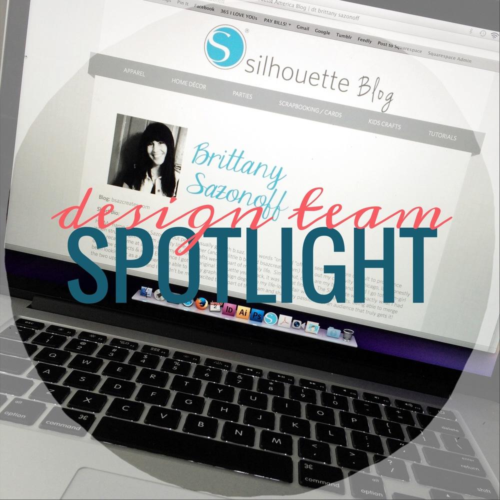 Brittany Sazonoff | Silhouette America Blog Design Team Spotlight