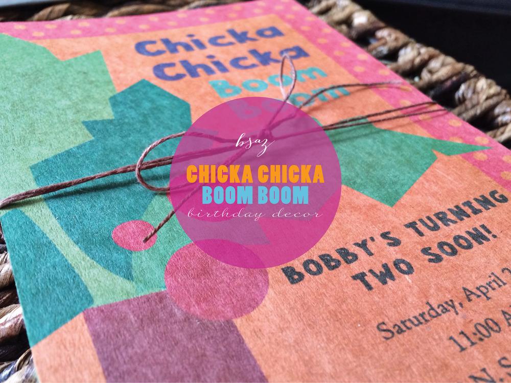 BSAZ CREATES | CHICKA CHICKA BOOM BOOM THEMED PARTY