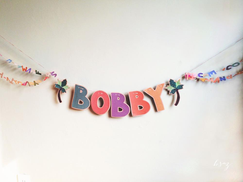 BSAZ CREATES | CHICKA CHICKA BOOM BOOM BIRTHDAY BANNER