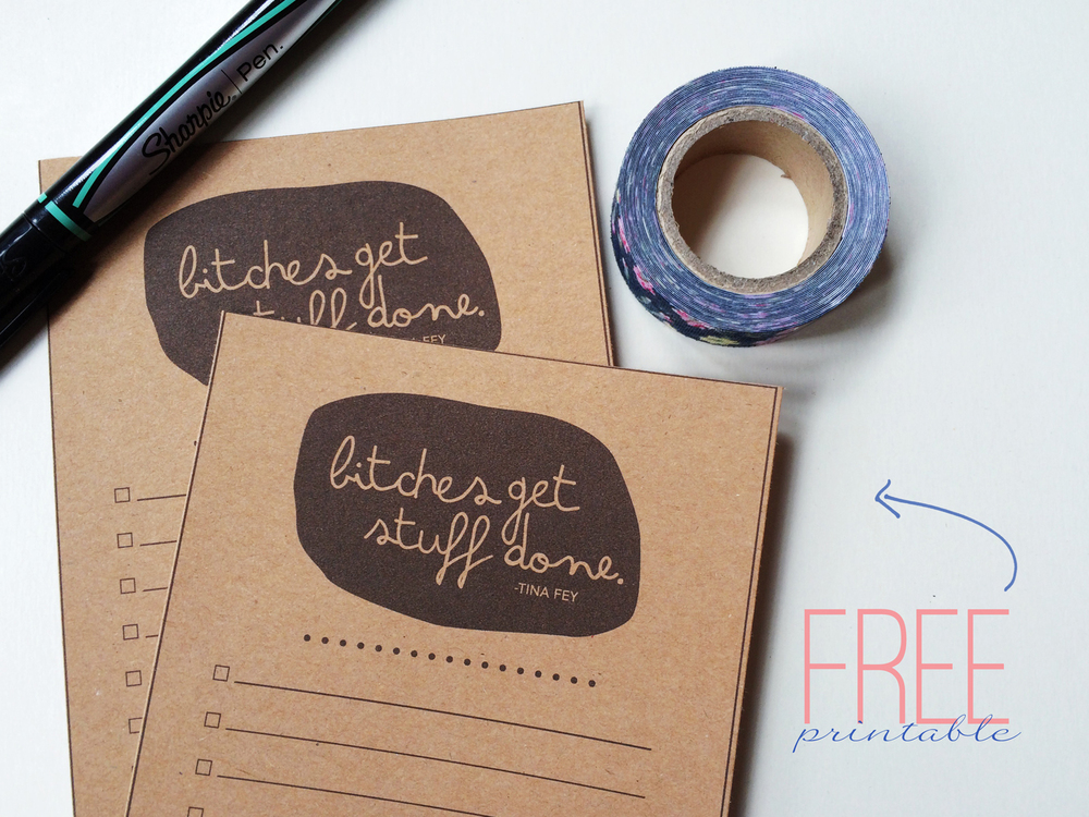 BSaz Creates | To Do List Printable Freebie